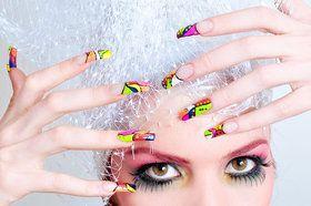 Makeup of nails