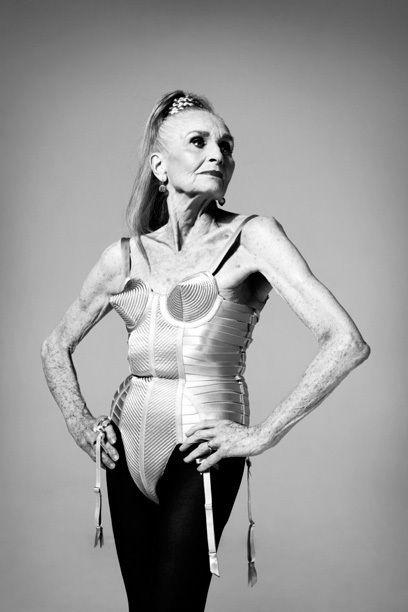 Daphne Selfe 83 years