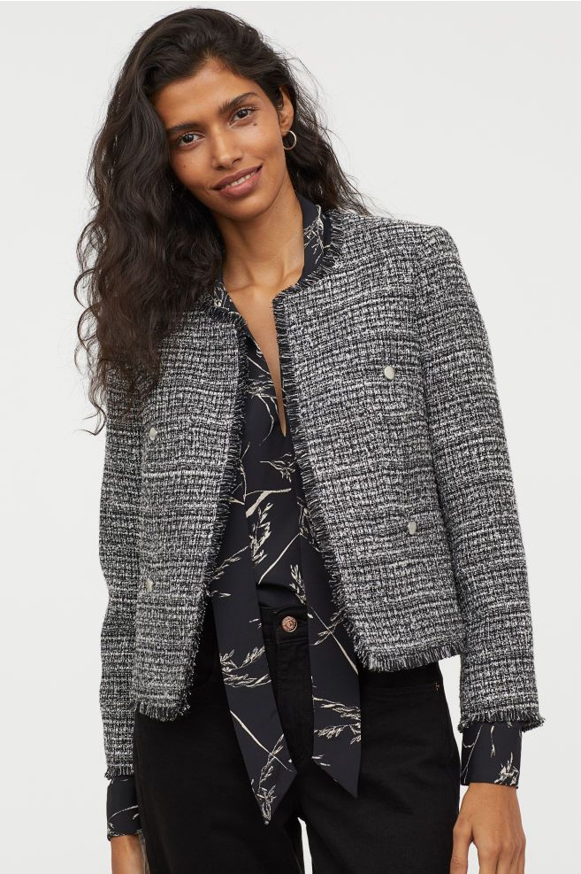 910932ee7463 Textured jacket in 2019 | ♛ Smart Casual ♛ To Buy @ H&M ☀ Spring ...