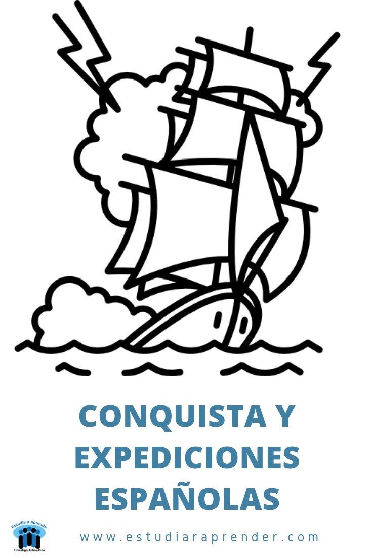 Conquista Y Expediciones Españolas Actividades De Historia