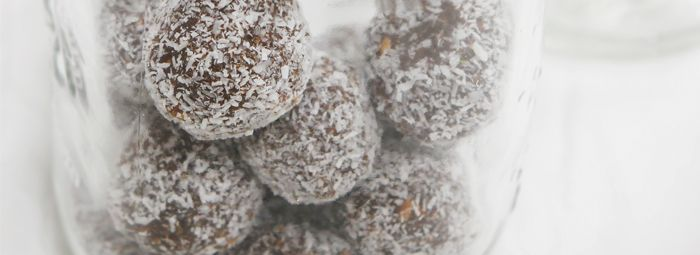 Dairy-free Date & Nut Truffles