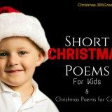 30+ Beautiful Short Christmas Poems, Christmas Poetry and Xmas Poems