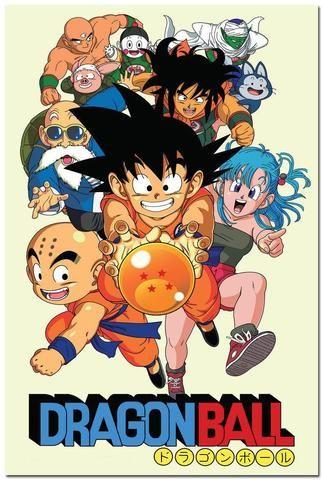"""Dragon Ball Z"" Silk Poster (24x36 inch) - FREE SHIPPING !!!"