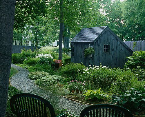 saltbox garden shed