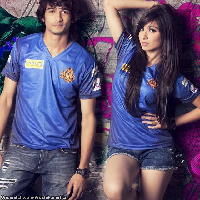 """Vrushika Mehta is a dancer and an Indian television actress. Vrushika made her debut with Channel V's popular dance based youth show Dil Dosti Dance as the female lead of the show portraying the Character of Dancing Diva """"Sharon Raipraksh"""". like : http://www.Unomatch.com/Vrushikamehta/"""