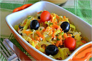 Alimentação, saúde e beleza: Cenoura e Alho Francês à Brás