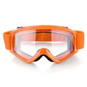 CARCHET Orange Lunettes Moto Cross Goggle Eyewear Glasses Protection