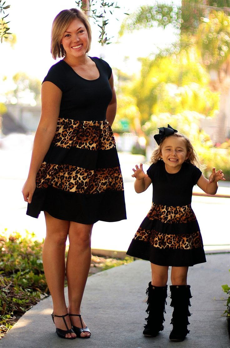 How fun is this mommy and me dress??? From Be Inspired Boutique