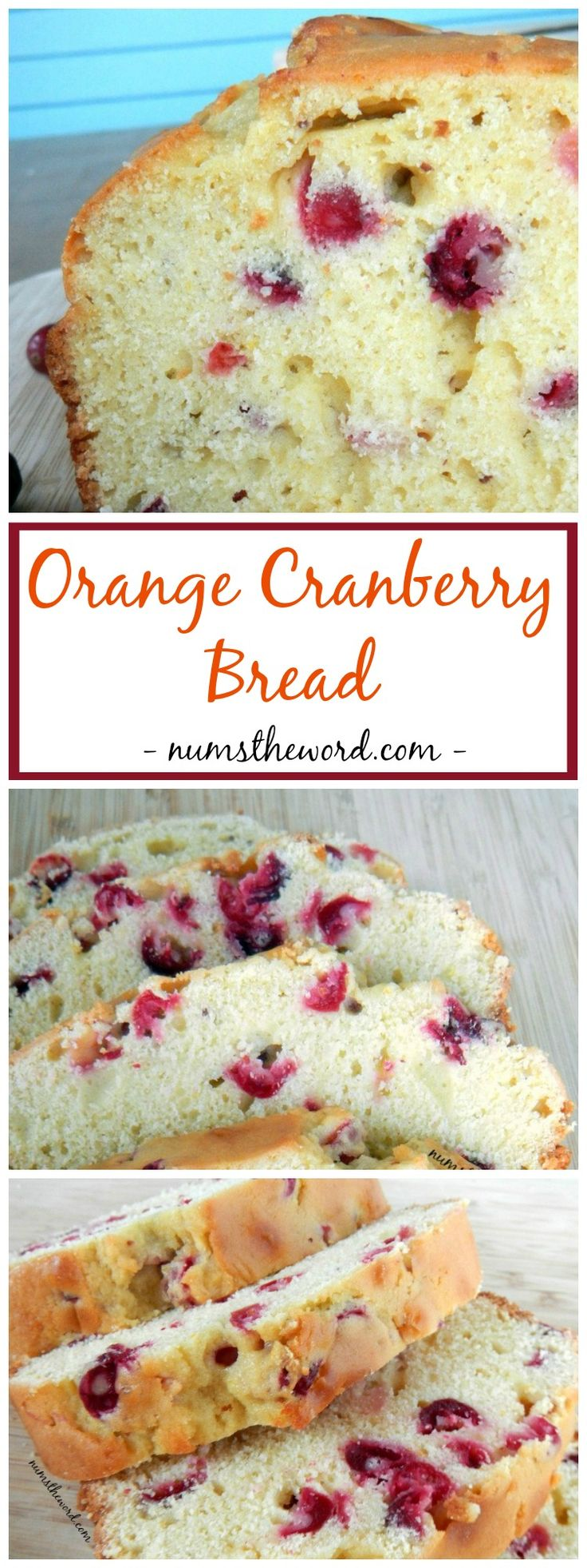 This Orange Cranberry Bread is packed with flavors and oh so good. Did i…