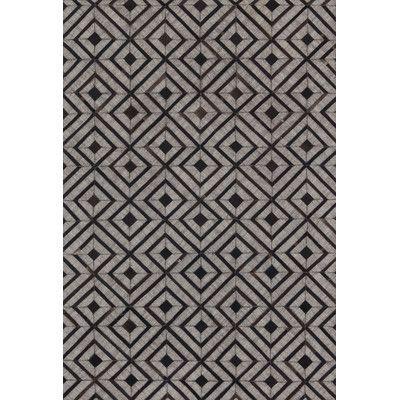 "Loloi Rugs Dorado Beige / Espresso Area Rug Rug Size: 7'9"" x 9'9"""
