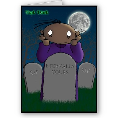Eternally Yours - A Gothic Valentine  Derek conveys (in his own very unique way) his devotion to someone special in this original and macabre Valentine card.   #valentine #love #grave #gravestone #cemetery #heart #holiday #holidays #pulse #beat #bonding #together #slushy #togetherness #warm #feeling #valentinesday #darkderek #gothic #macabre #dark #black #sinister #horror #halloween #spooky #kooky #weird #scary #frightening #humor