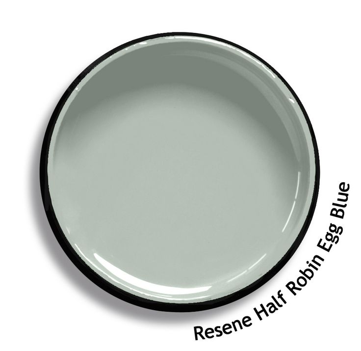 Resene Half Robin Egg Blue Is a smoky soft green blue, washed soft. From the Resene Karen Walker Paints colour range. Try a Resene testpot or view a physical sample at your Resene ColorShop or Reseller before making your final colour choice. www.resene.co.nz/karenwalker.htm