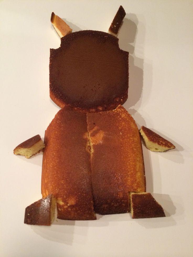 "Slugterra ""Burpy"" cake"