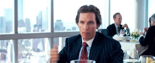 leonardo dicaprio martin scorsese matthew mcconaughey The Wolf of Wall Street film trivia