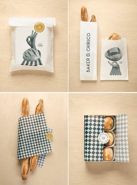 บรรจุภัณฑ์ขนมเก๋ๆจาก BAKER D.CHIRICO จาก Bunjupun.com