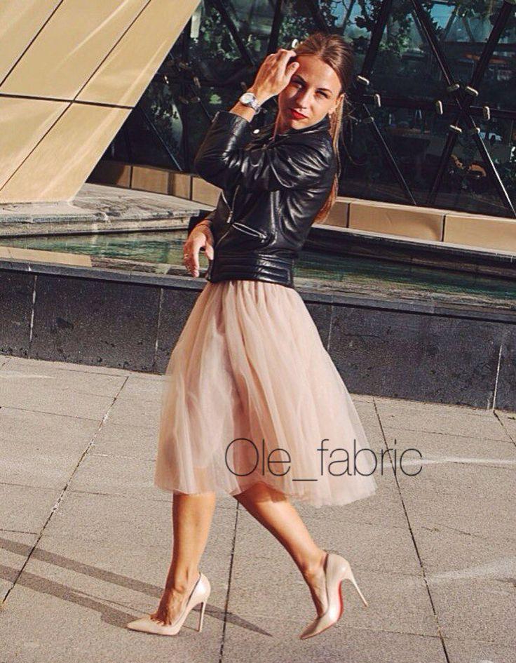 Olefabric Купить юбку из фатина, юбка-пачка