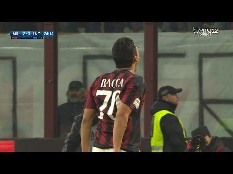 MILAN-INTER 3-0 31 GENNAIO 2016 FANTASTICO GOAL DI BACCA PER IL 2 A 0 - VIDEO FOR ALL #acmilan #milan #derby