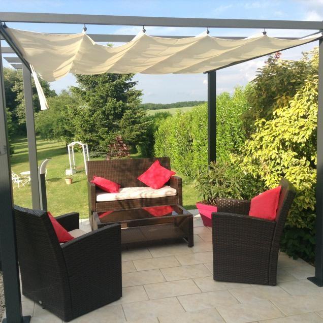 Condate 3x3m Pergola Aluminium Pergola Et Tente Jardin