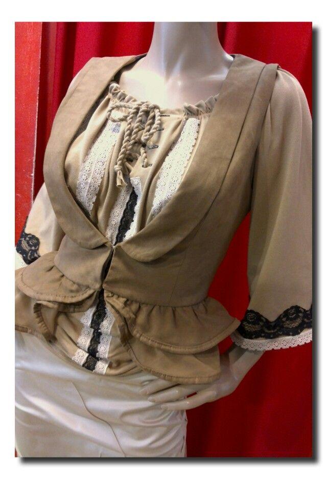 Celine vest and blouse
