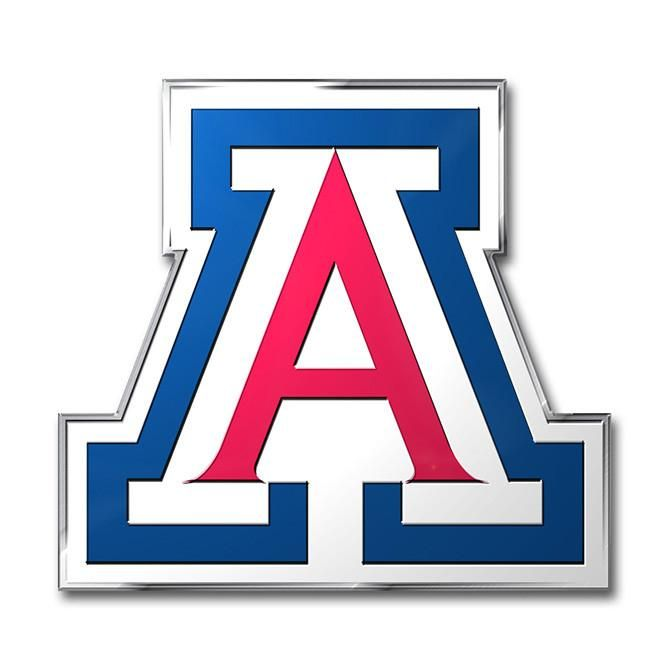 Arizona Wildcats Auto Emblem - Color