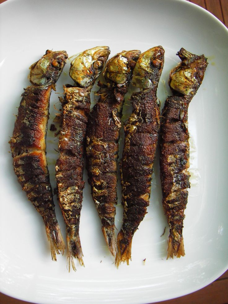 ~Thai Fried Sardines Recipe~