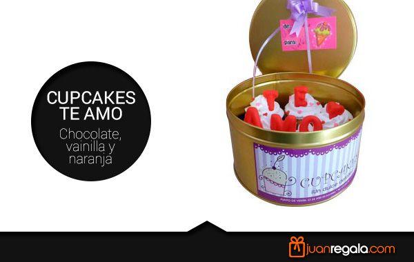 Porque con CupCakes también puedes decir #TEAMO. - JuanRegala.com -
