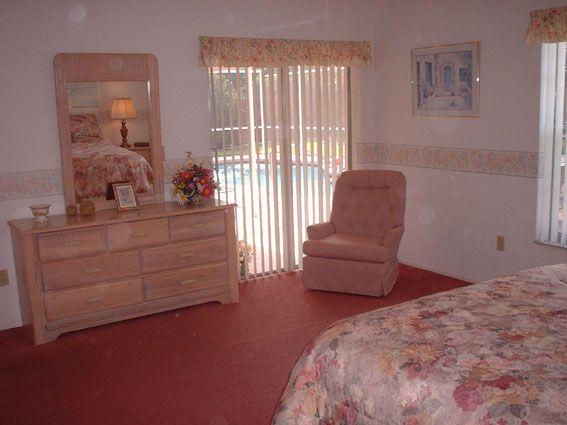 Villa in Orlando master bedroom