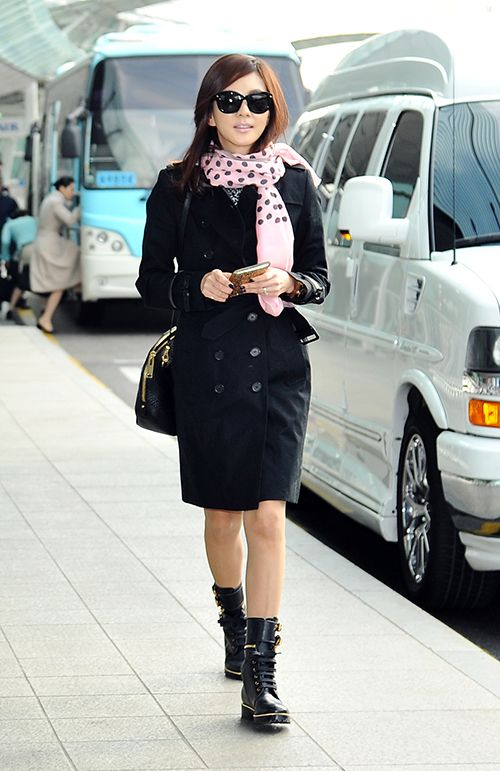 [FS공항패션] 김남주, 봄맞은 시크한 환절기 스타일링 http://www.fashionseoul.com/?p=24571