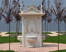 Great Ottoman Patterned fountain