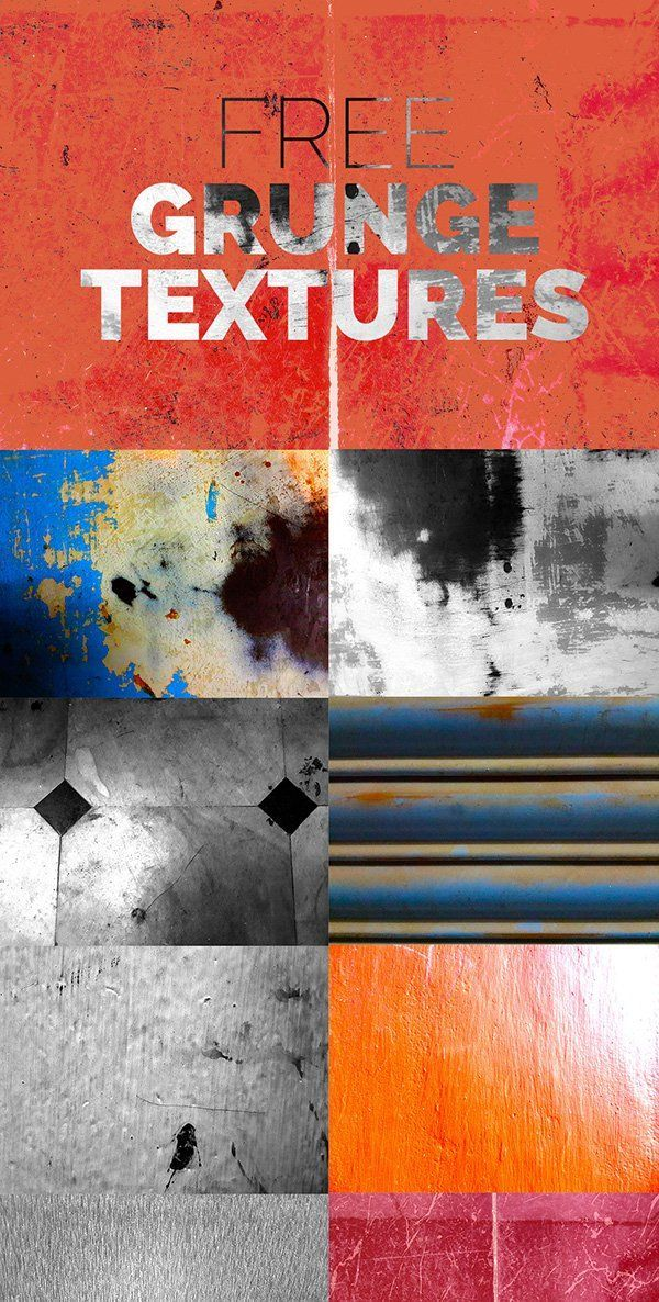 10 #Free Grunge #Textures These textures are assorted in nature – from extreme texture to subtle. They are perfect for use as overlay textures on your photos, typography, graphics and backgrounds.