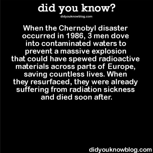"did-you-kno: "" did-you-kno: "" Source "" The Chernobyl disaster occurred exactly 30 years ago today, on April 26, 1986. """