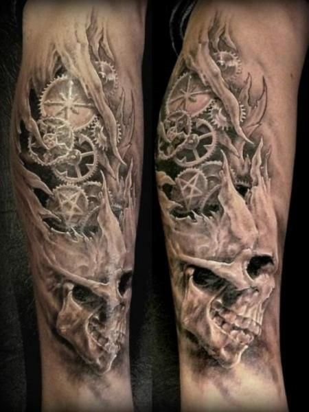 Black and grey is a classic tattoo style, check out this gallery of some of our favorite tattoos here. Description from design.newtattoo.net. I searched for this on bing.com/images