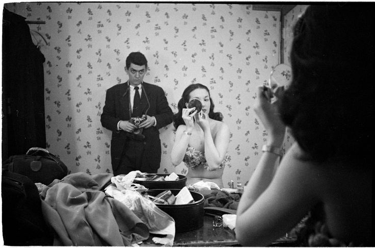 """""""Rosemary Williams, Show Girl & Self Portrait"""" by Stanley Kubrick.  Limited edition of 50."""