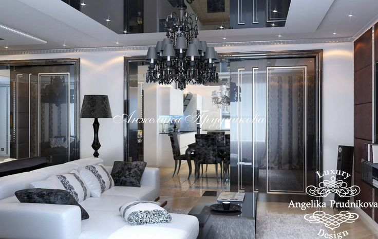 Гостиная. Фото 2017 - Дизайн гостиной