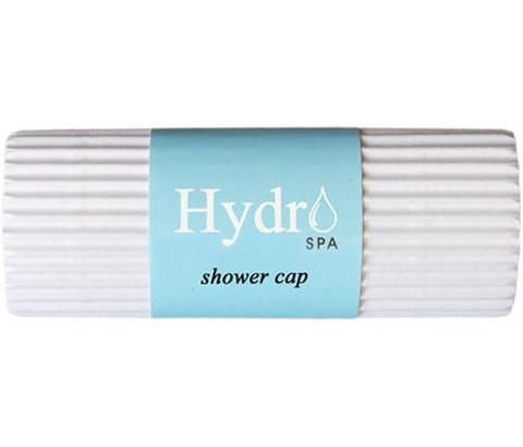 Hotel Shower Cap Hydro Spa is packaged in our exclusive hotel corro-wrap. Your guests will appreciate these more than you know.