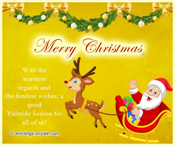 10 best Christmas cards images on Pinterest Projects, Christmas - christmas greetings sample