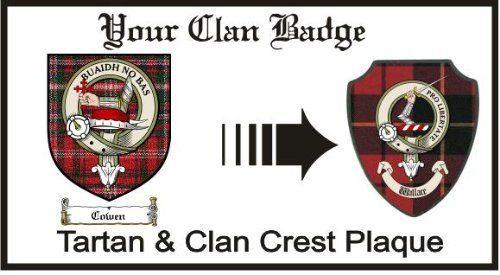 Cowen Clan Macdougall Clan Badge Plaque . $29.99