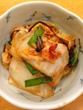 美味しい簡単白菜キムチ