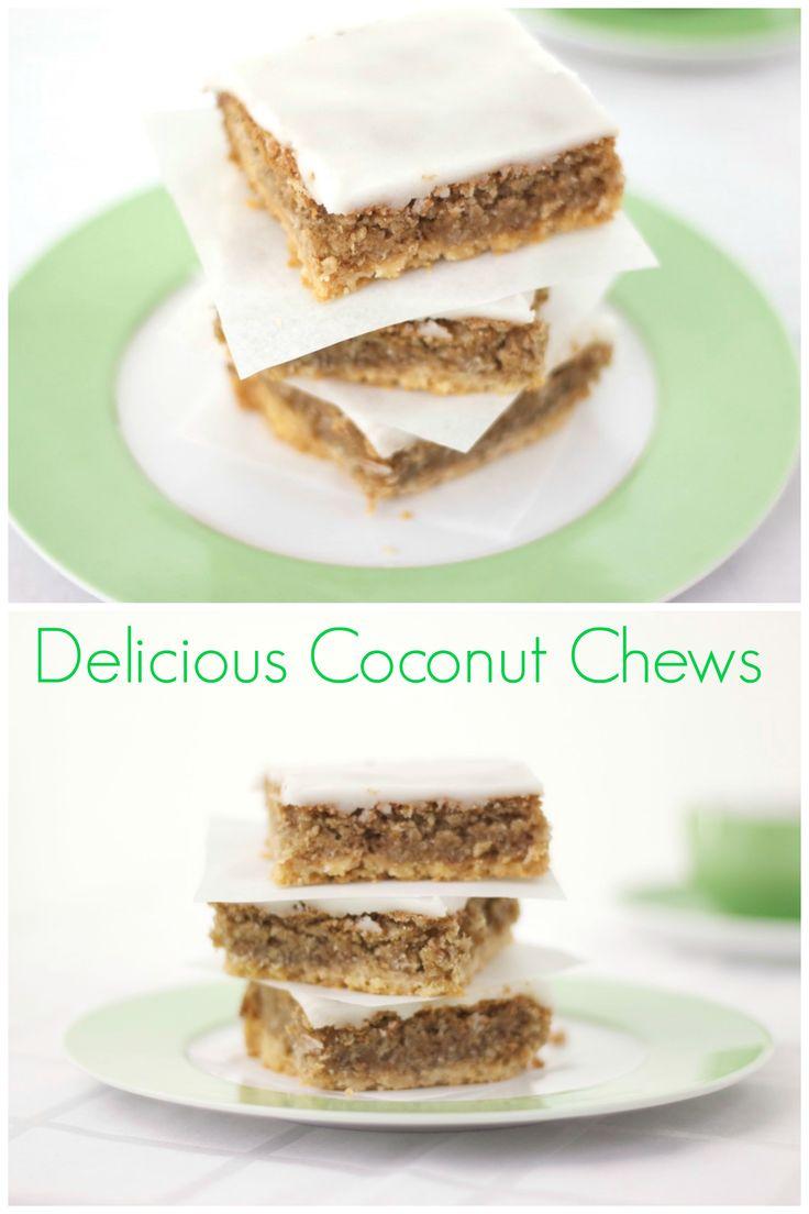 Rezept: Coconut Chews | Kokos-Zitronen-Schnitten | Cynthia Barcomi