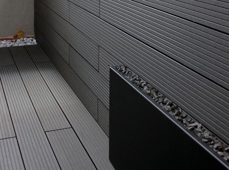 Madera tipo composite en color gris para exterior en madera para terrazas y ticos ideas - Tipo de madera para exterior ...