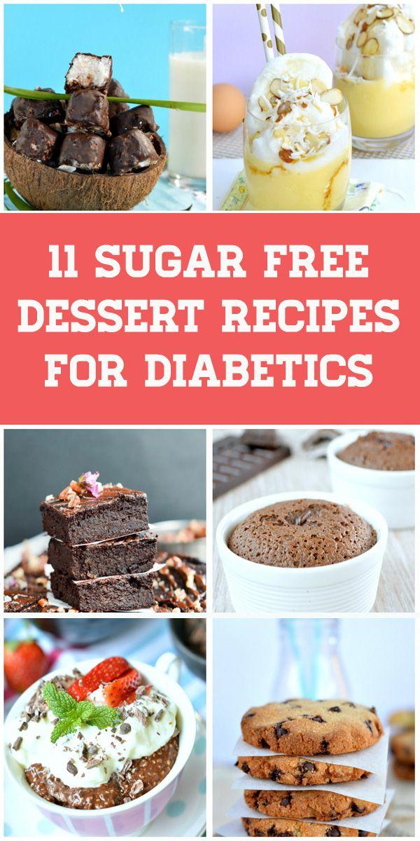11 Sugar Free Dessert For Diabetics Sugar Free Desserts Sugar Free Pie Diabetic Desserts Easy
