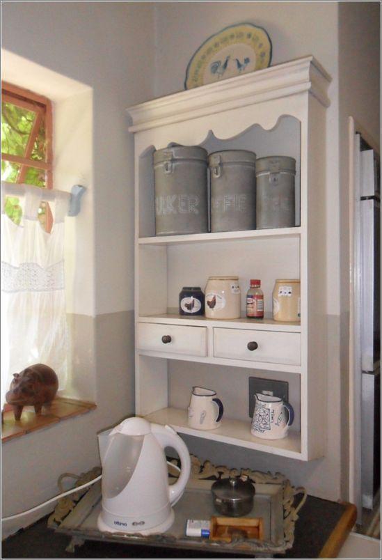 Shelf for coffee and tea station