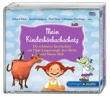 Mein Kinderhörbuchschatz. Die schönsten Geschichten mit Pippi, den Olchis und Mama Muh (3 CD). Ab 5 Jahren.