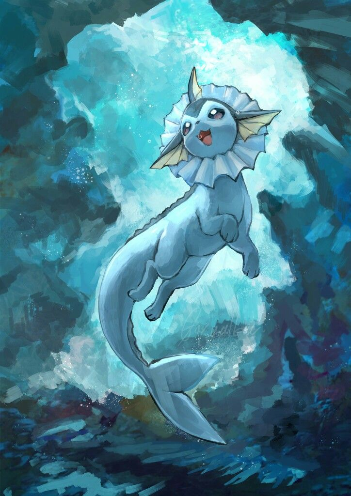Render Vaporeon y Glaceon by AkumaOfThorns on DeviantArt |Vaporeon And Glaceon Wallpaper