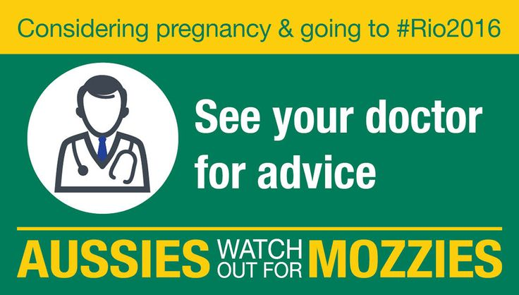 Travelling to a Zika affected area and considering pregnancy? Visit your doctor & health.gov.au/rio2016 for info