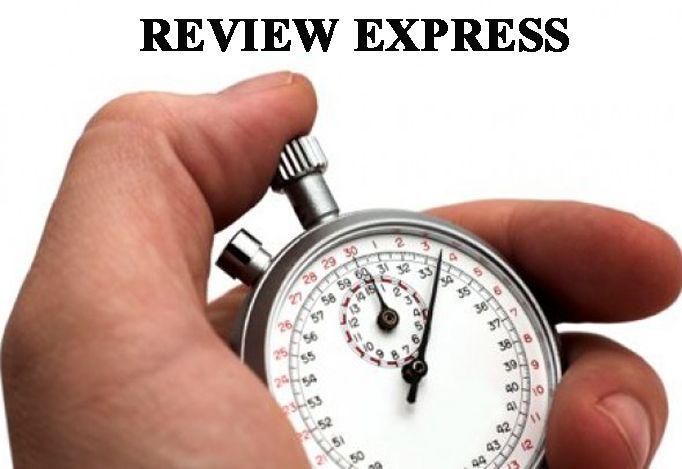 olgacc: review Express, comentario positivo  rapidamente for $5, on fiverr.com
