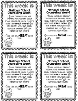 National School Counseling Week (Bundle 3)
