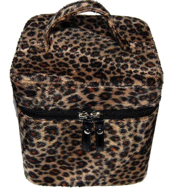 Leopard Vanity Case $29.99