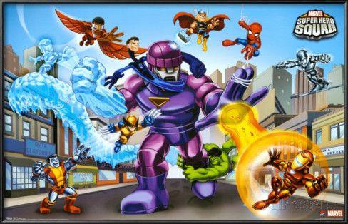 Marvel Super Hero Squad Online | Volviendo al tema de la serie de Super Hero Squad Show, el programa