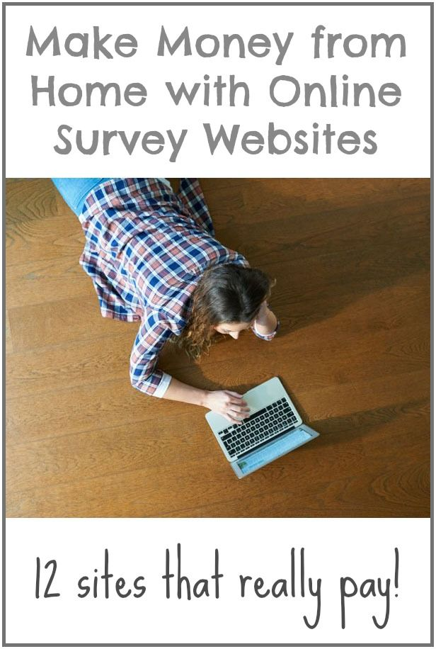 make money from home surveys make money from home with these online survey websites 6670